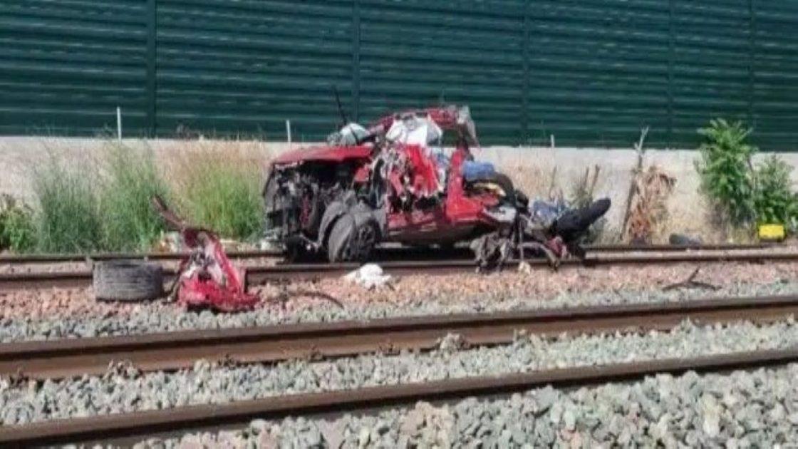 Incidente Treno Auto Alicante Spagna 4 morti