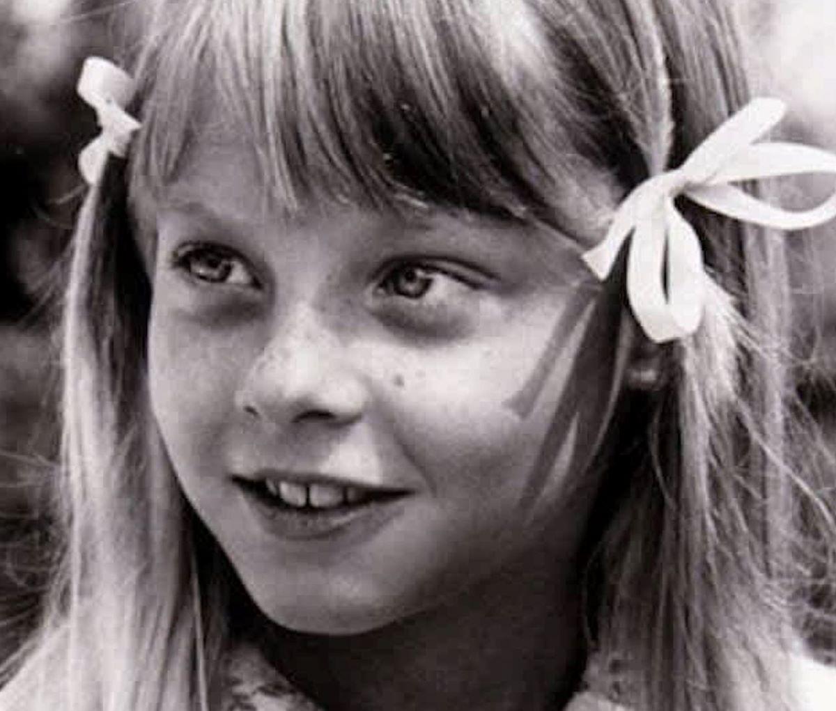 Jodie Foster Attrice Foto Bambina 12 anni