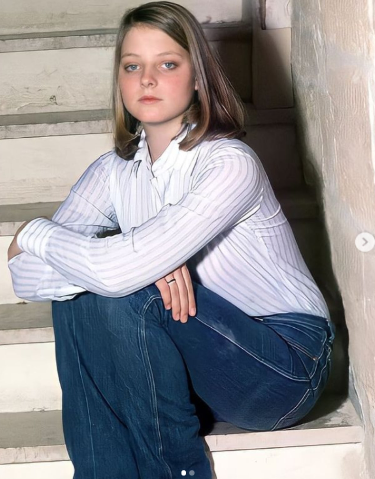 Attrice Jodie Foster Foto Bambina 12 anni