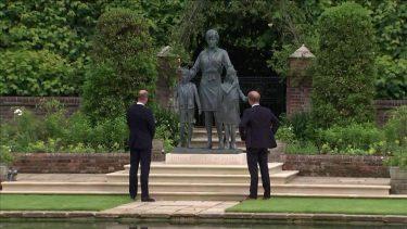 Lady Diana significato abito vestito statua