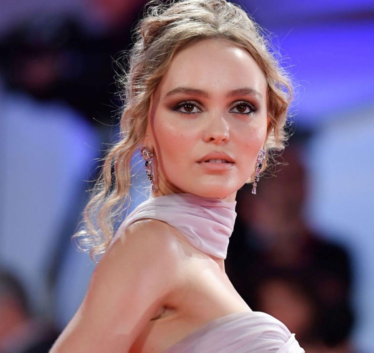 Lily-Rose Depp Modella Figlia Attore Johnny Depp