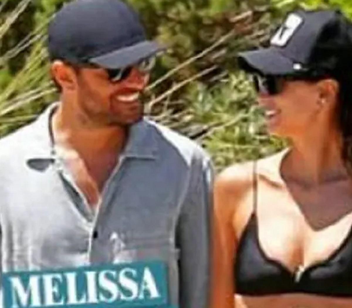 Melissa Satta nuova fiamma Mattia Rivetti