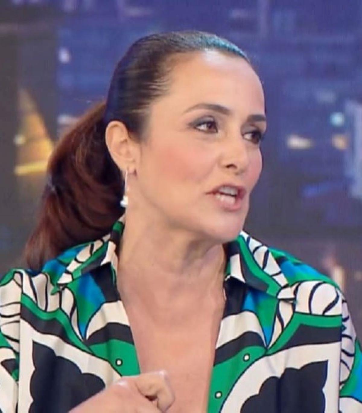 Roberta Capua Estate in diretta Massimo Ferrero Momento Hot