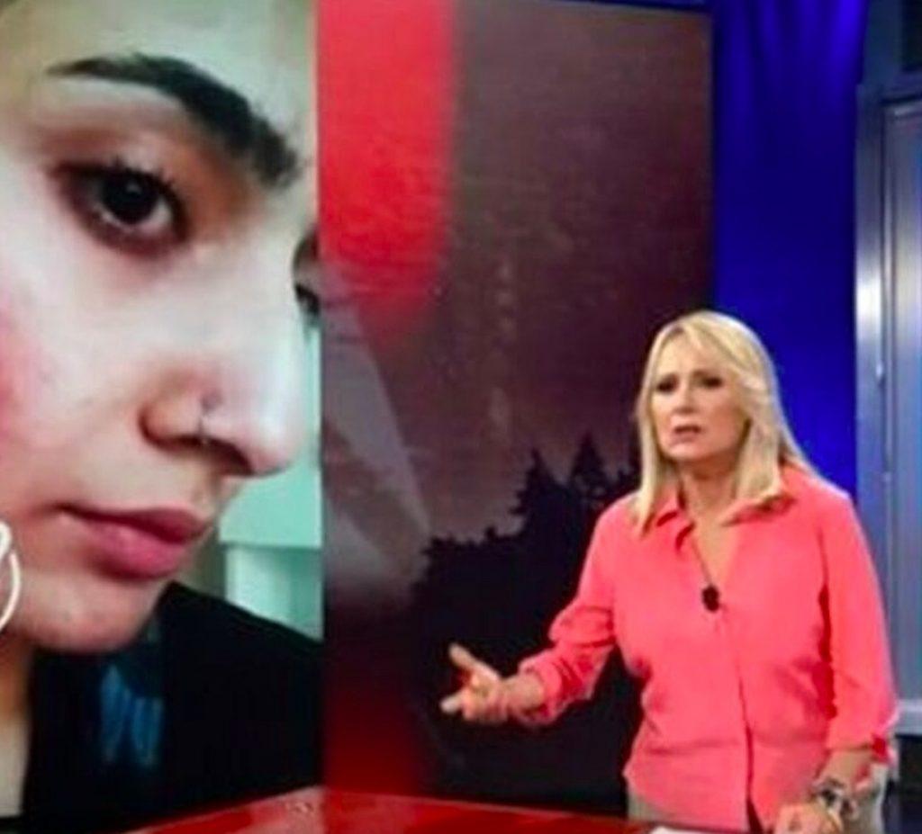 Saman Abbas parla fidanzato mafiosi