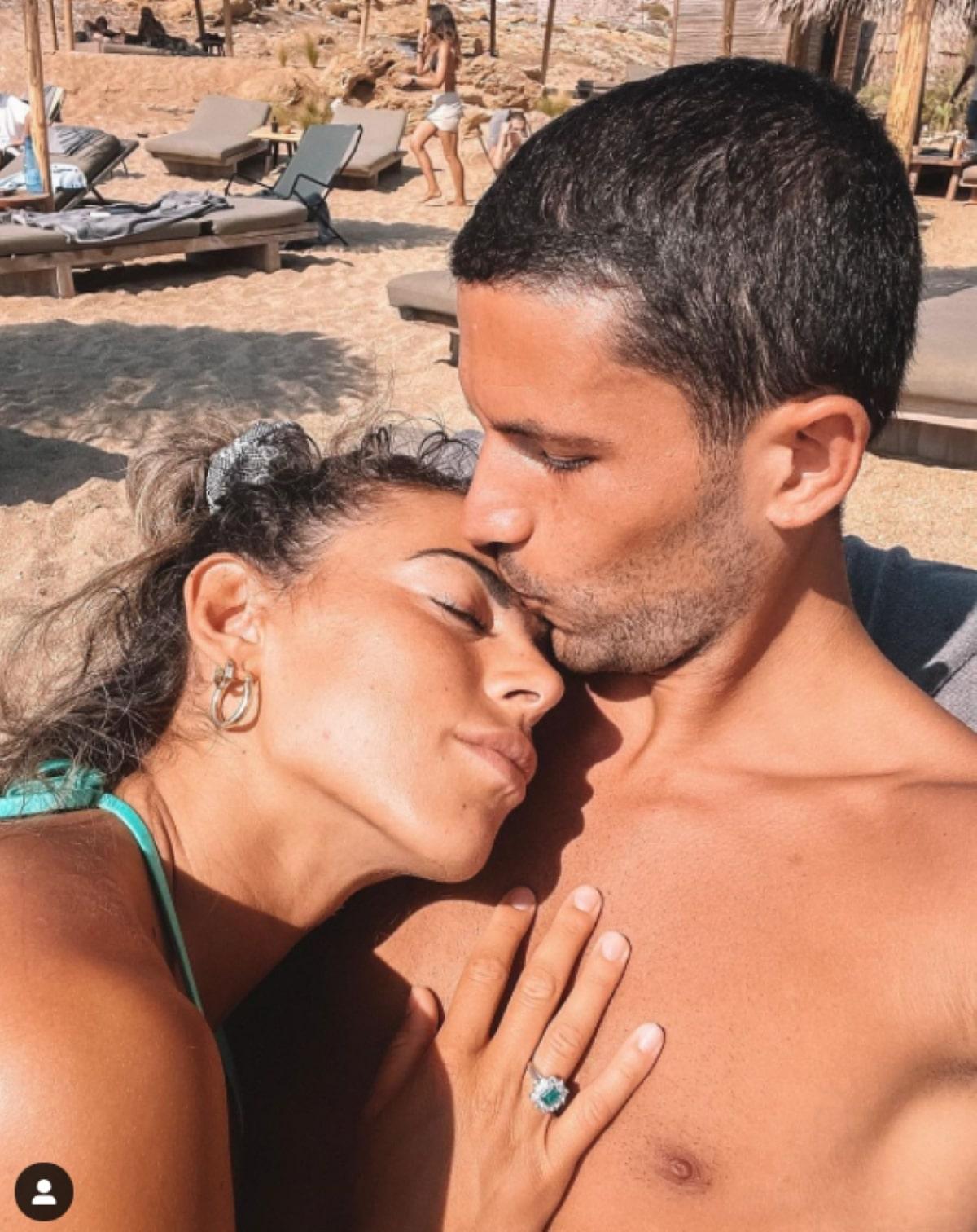 Stefano Sensi Calciatore Matrimonio Giulia Amodio 17 luglio
