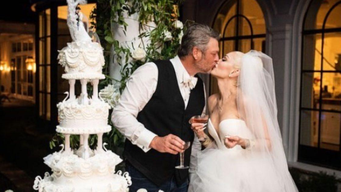 Gwen Stefani Blake Shelton Matrimonio Foto