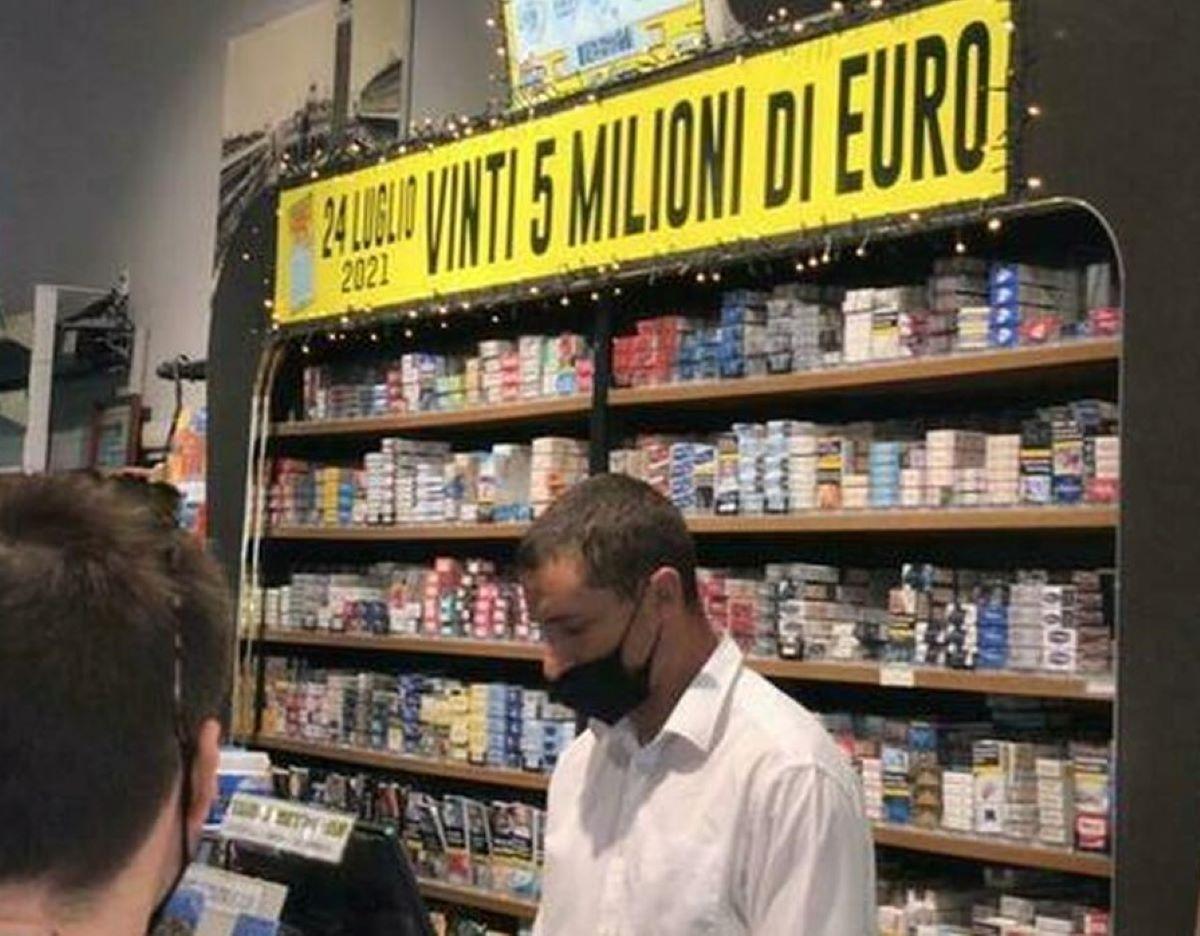Miliardario Maxi Vincita 5 milioni euro Stazione Feltre