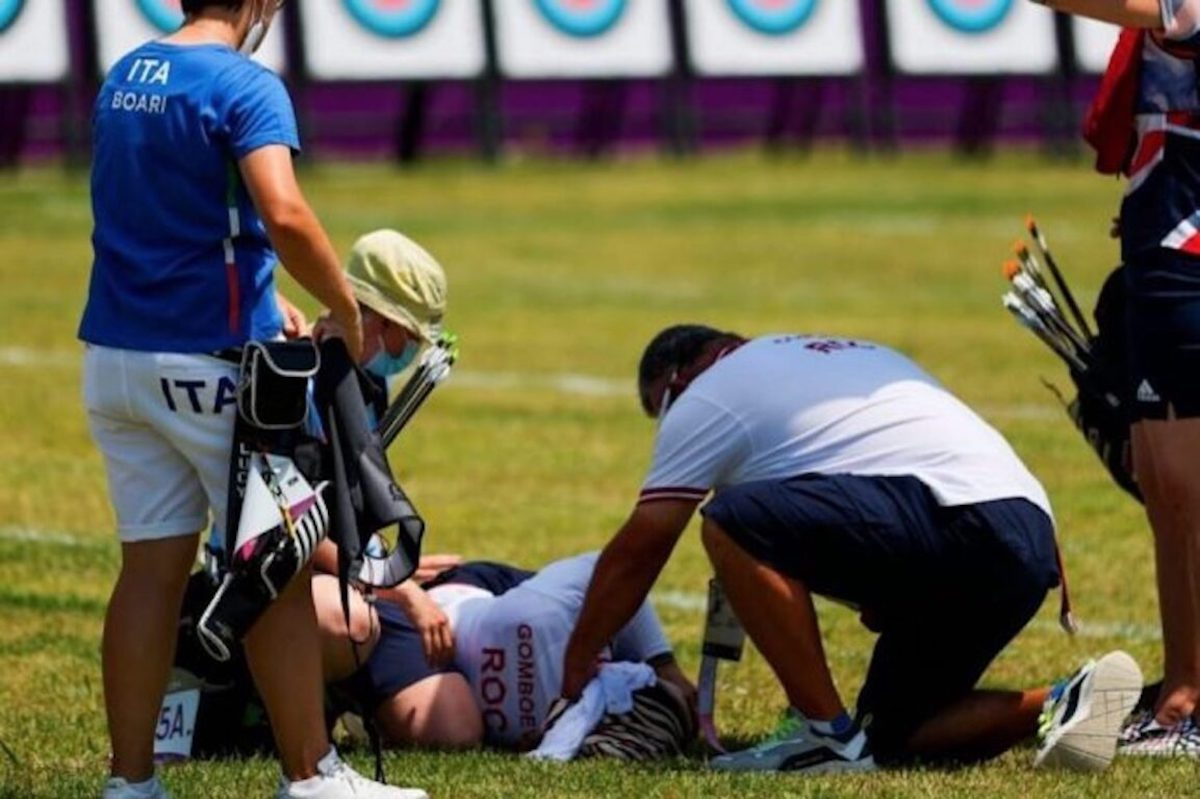 Svetlana Gomboeva sviene Olimpiadi