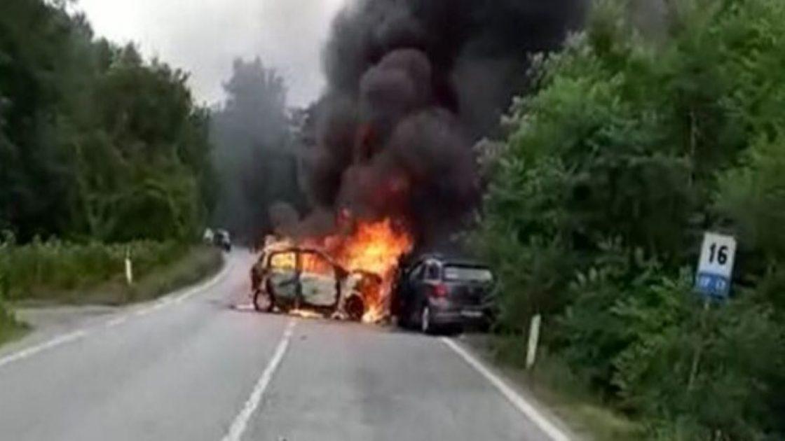 Incidente Fondovalle Tanaro Auto Fiamme Un Morto