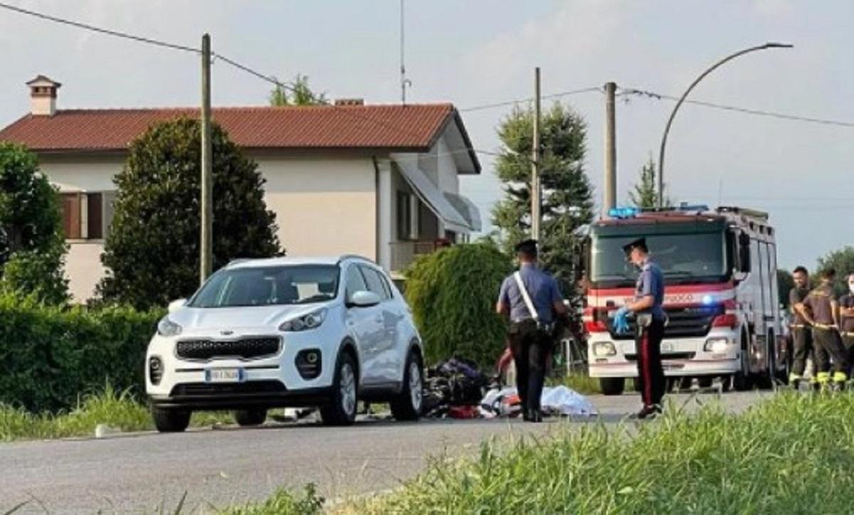 Ormelle incidente Simone Perin morto 17 anni scooter