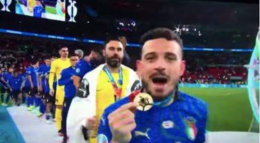 alessandro florenzi euro 2020 mamma medaglia