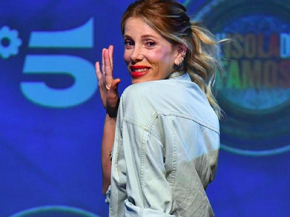 Alessia Marcuzzi a Sanremo insieme ad Amadeus