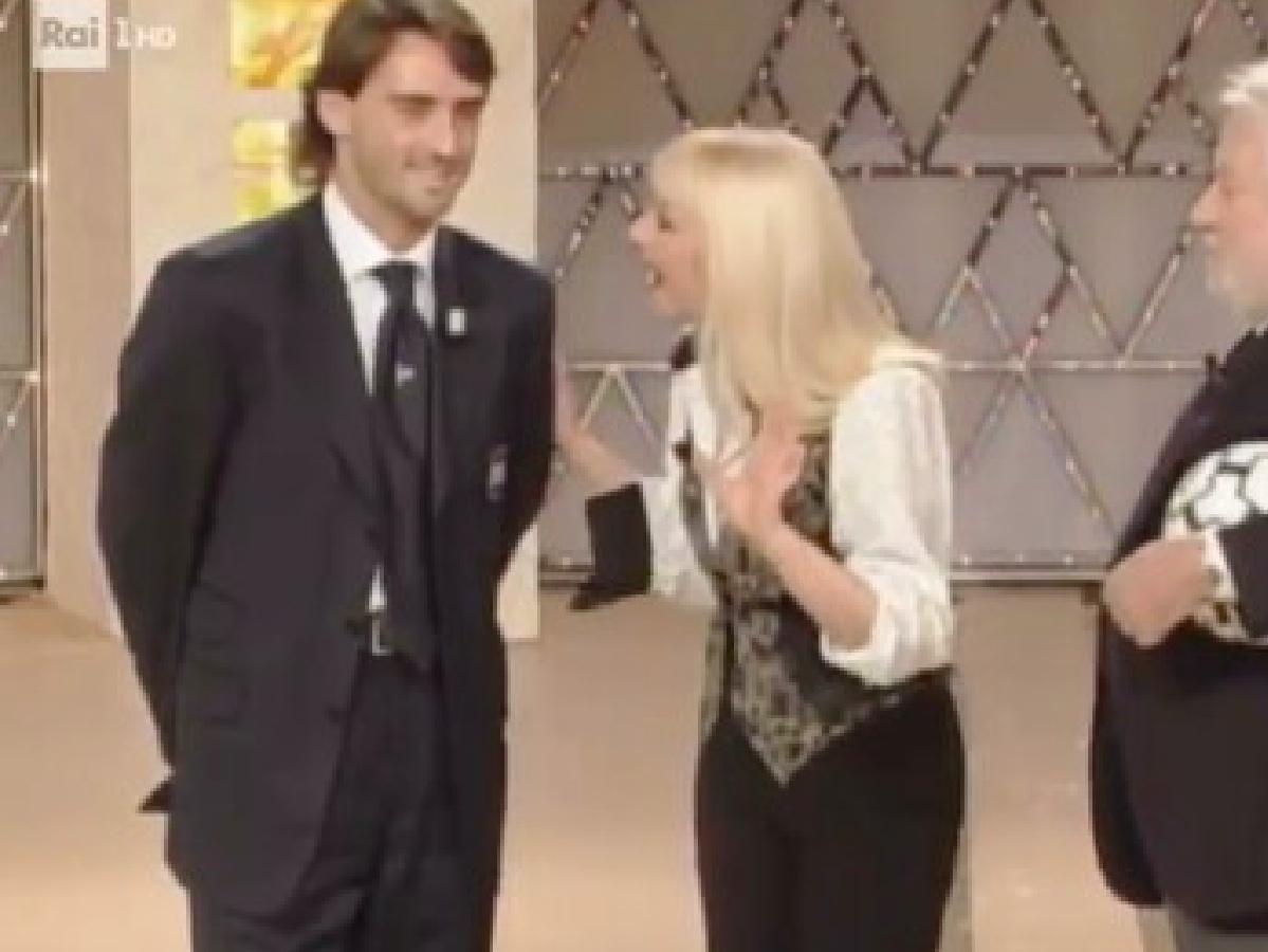 Raffaella Carrà profezia Roberto Mancini