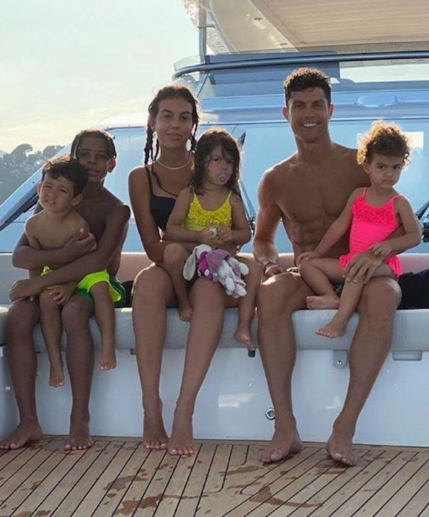 Cristiano Ronaldo vacanze georgina