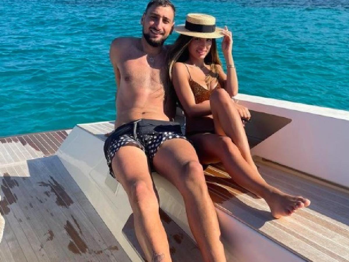 Gigio Donnarumma, la foto con la fidanzata Alessia