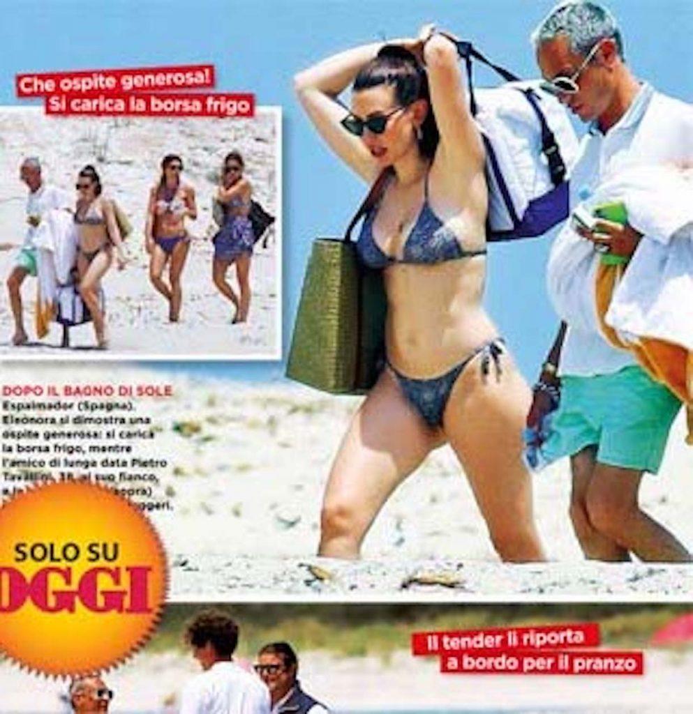 Eleonora Berlusconi yacht veronica lario