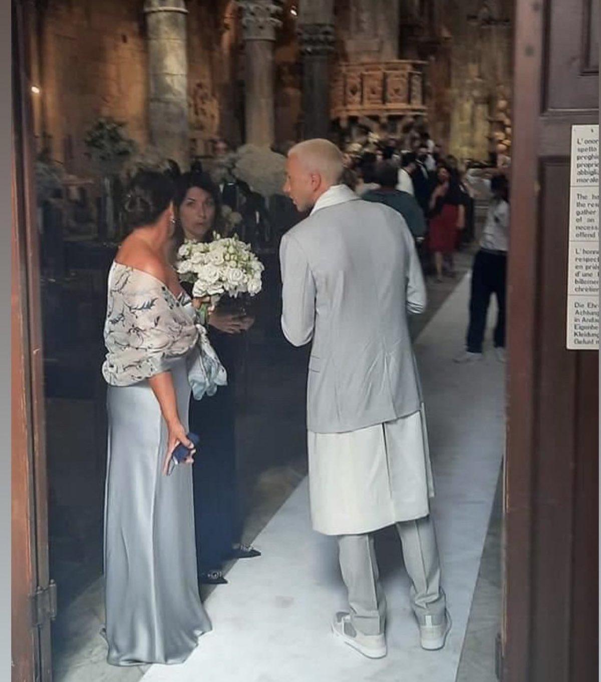 federico bernardeschi coro dopo matrimonio