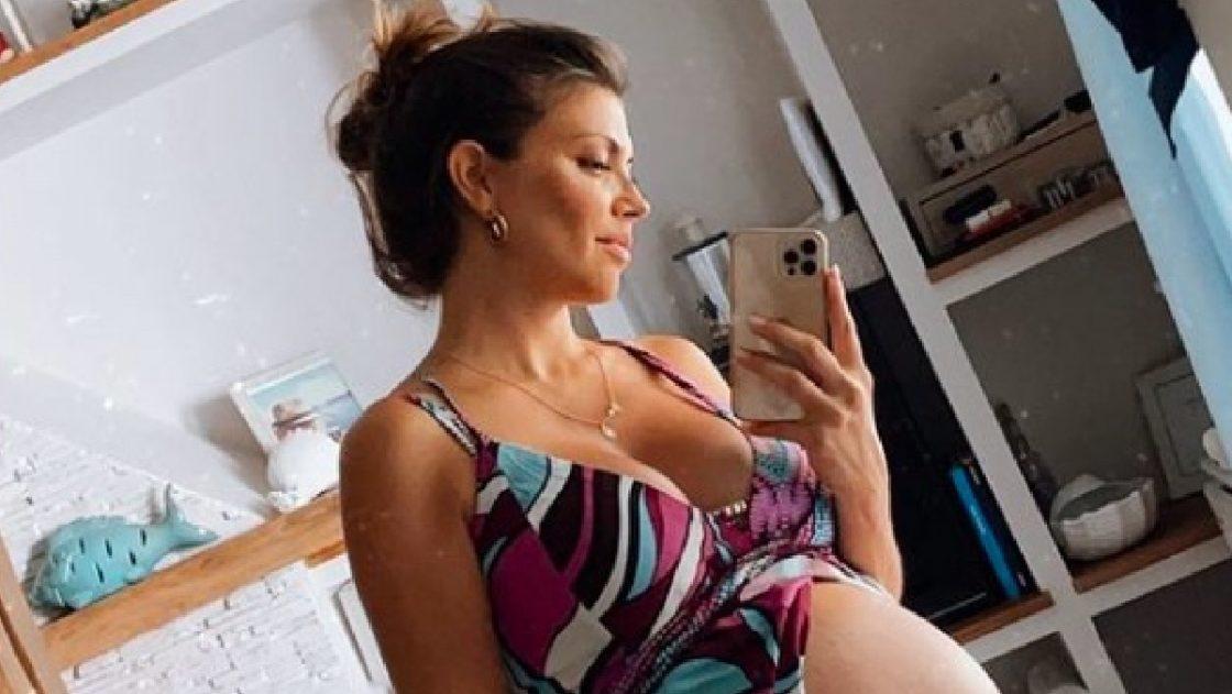 Flora Canto incinta secondo figlio