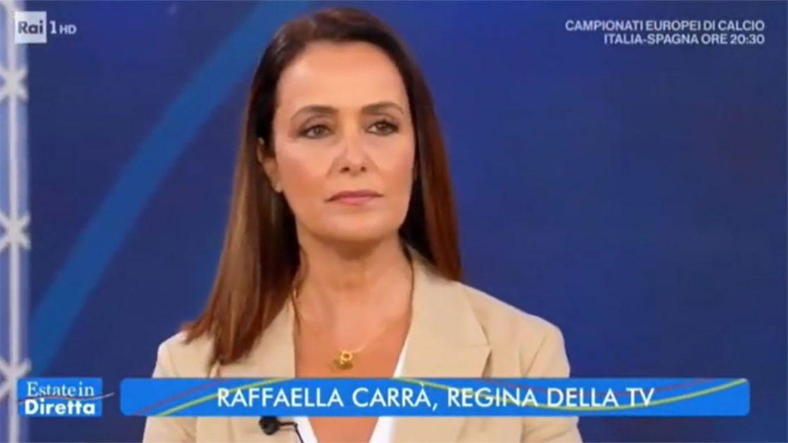 Raffaella Carrà sfogo roberta capua