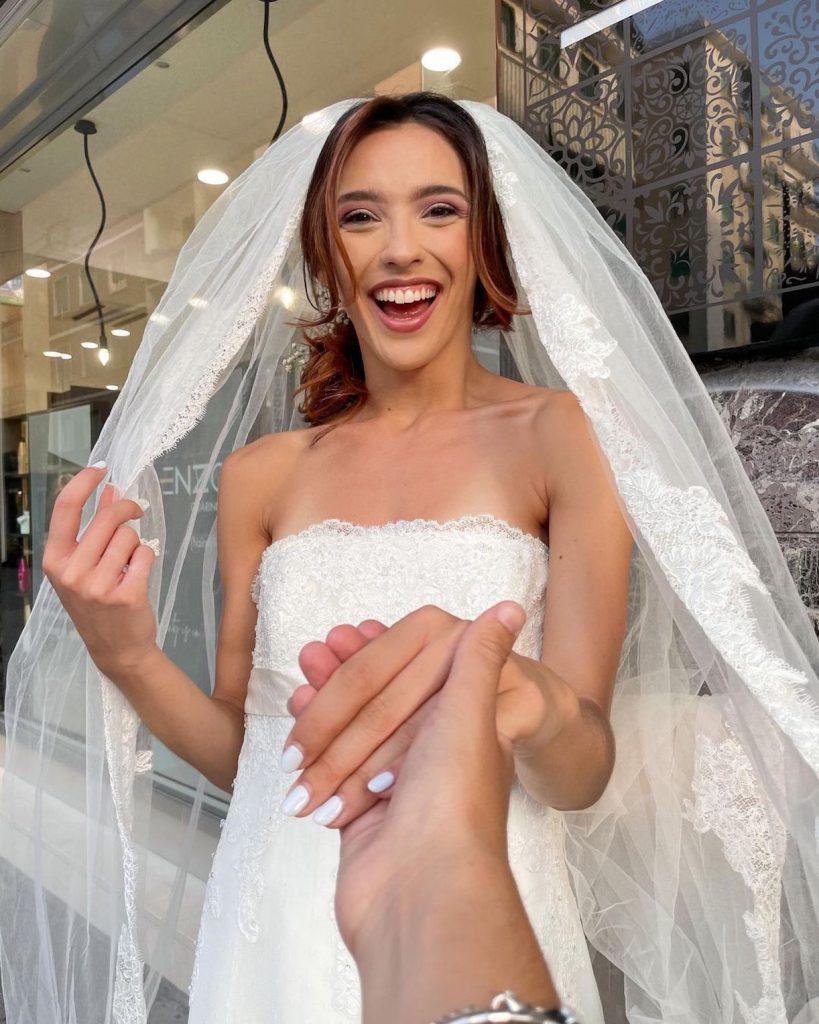 Ginevra Pisani sposa paolo