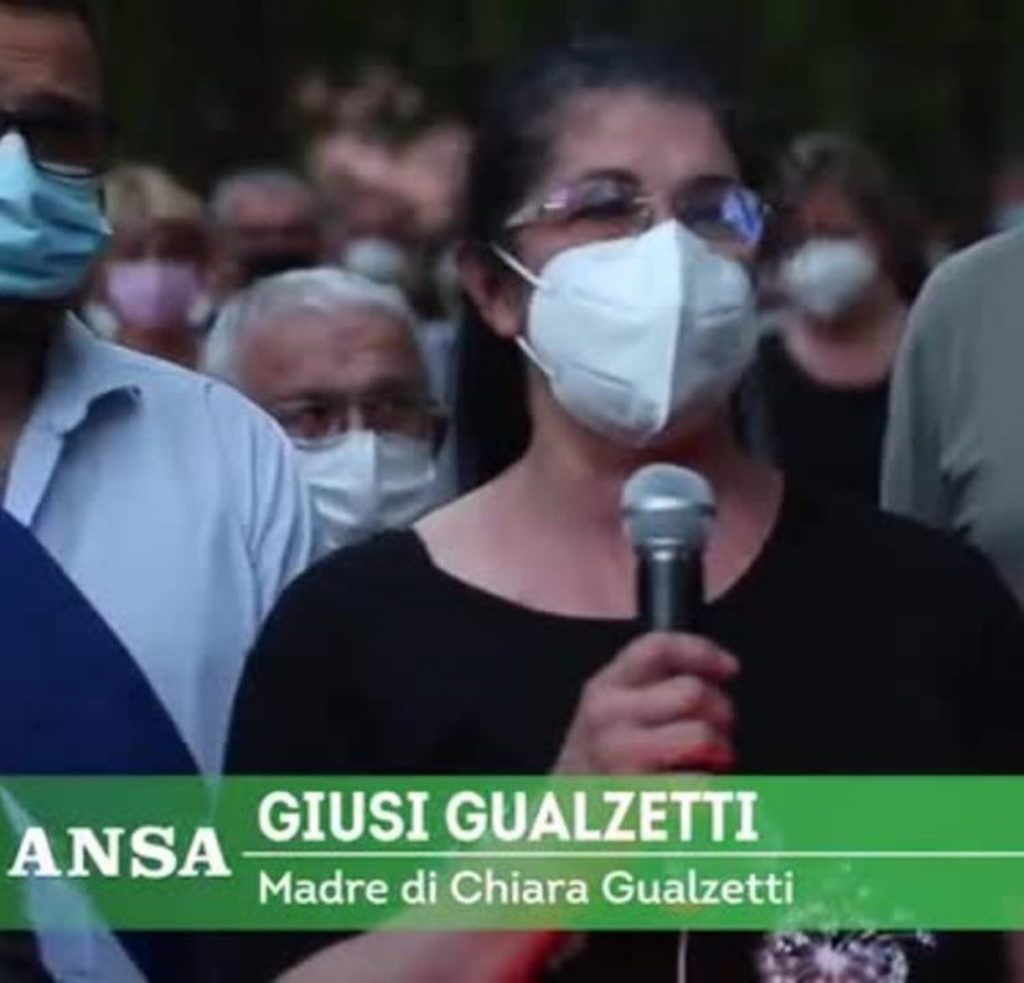Chiara Gualzetti mi urtava assassino