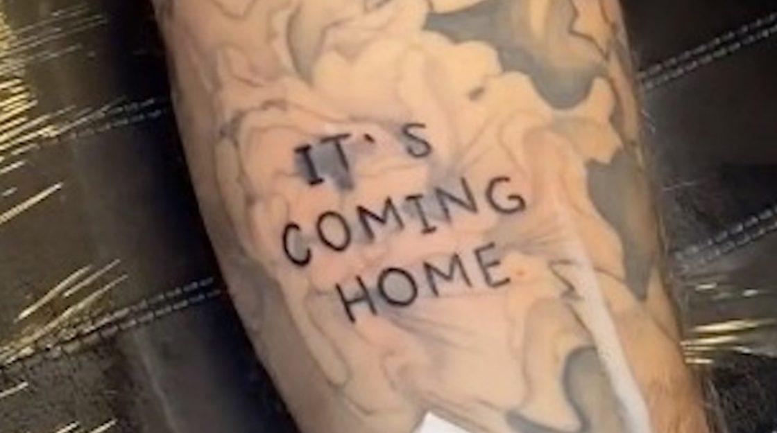 it's Coming Home tatuaggio