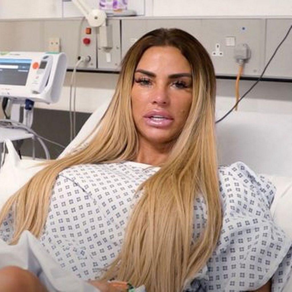 Katie Price liposuzione