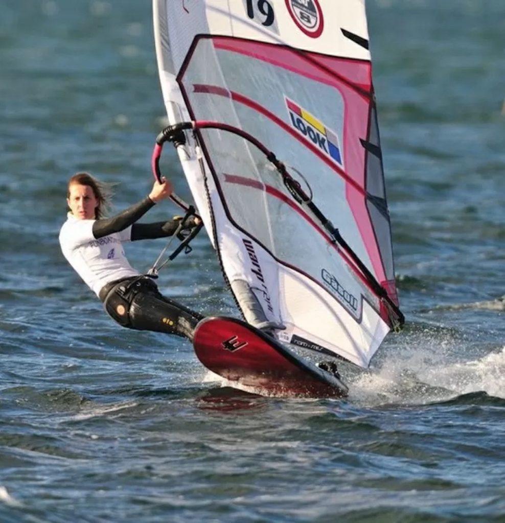 Lise Vidal windsurf morta