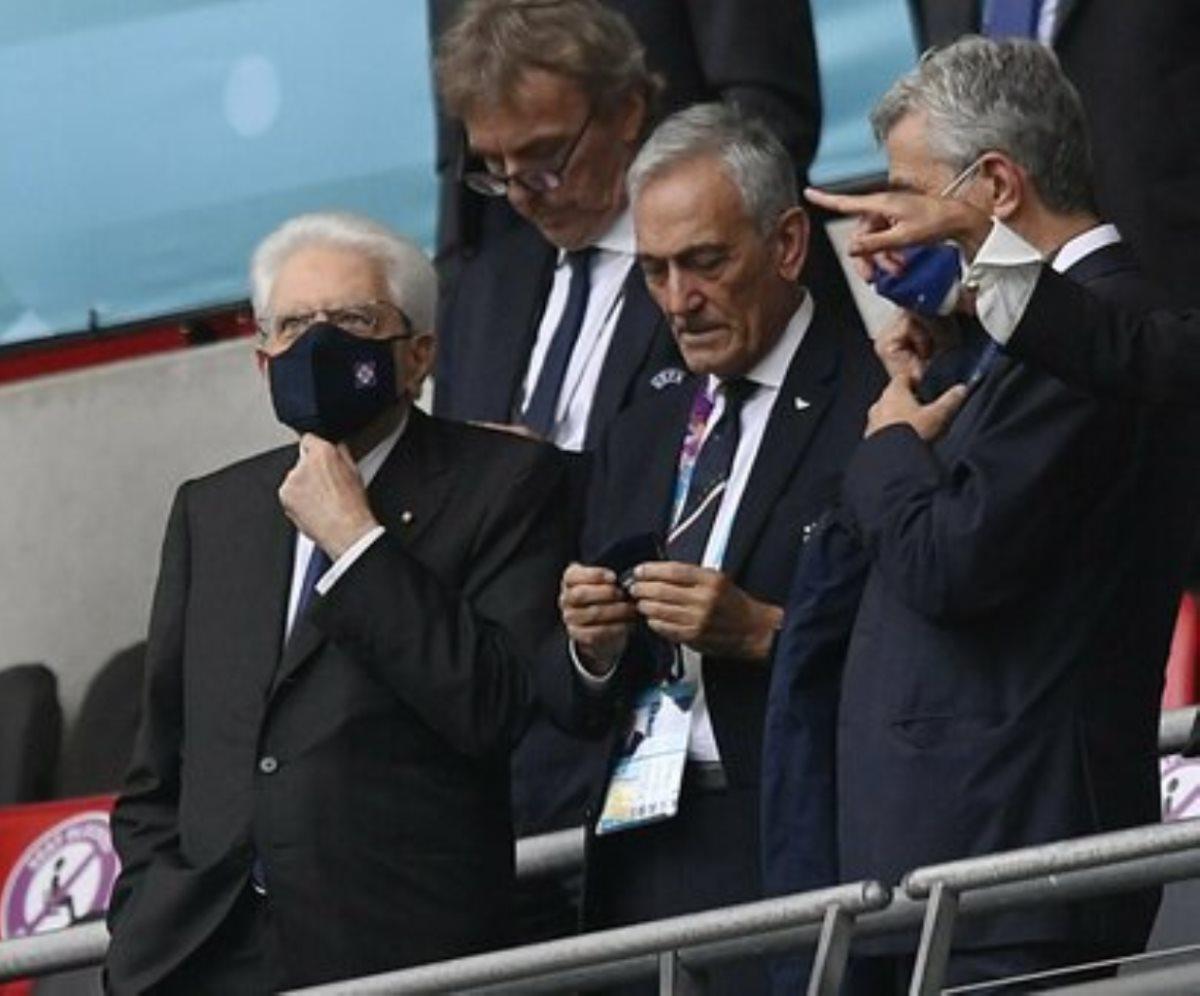 sergio mattarella finale europei italia