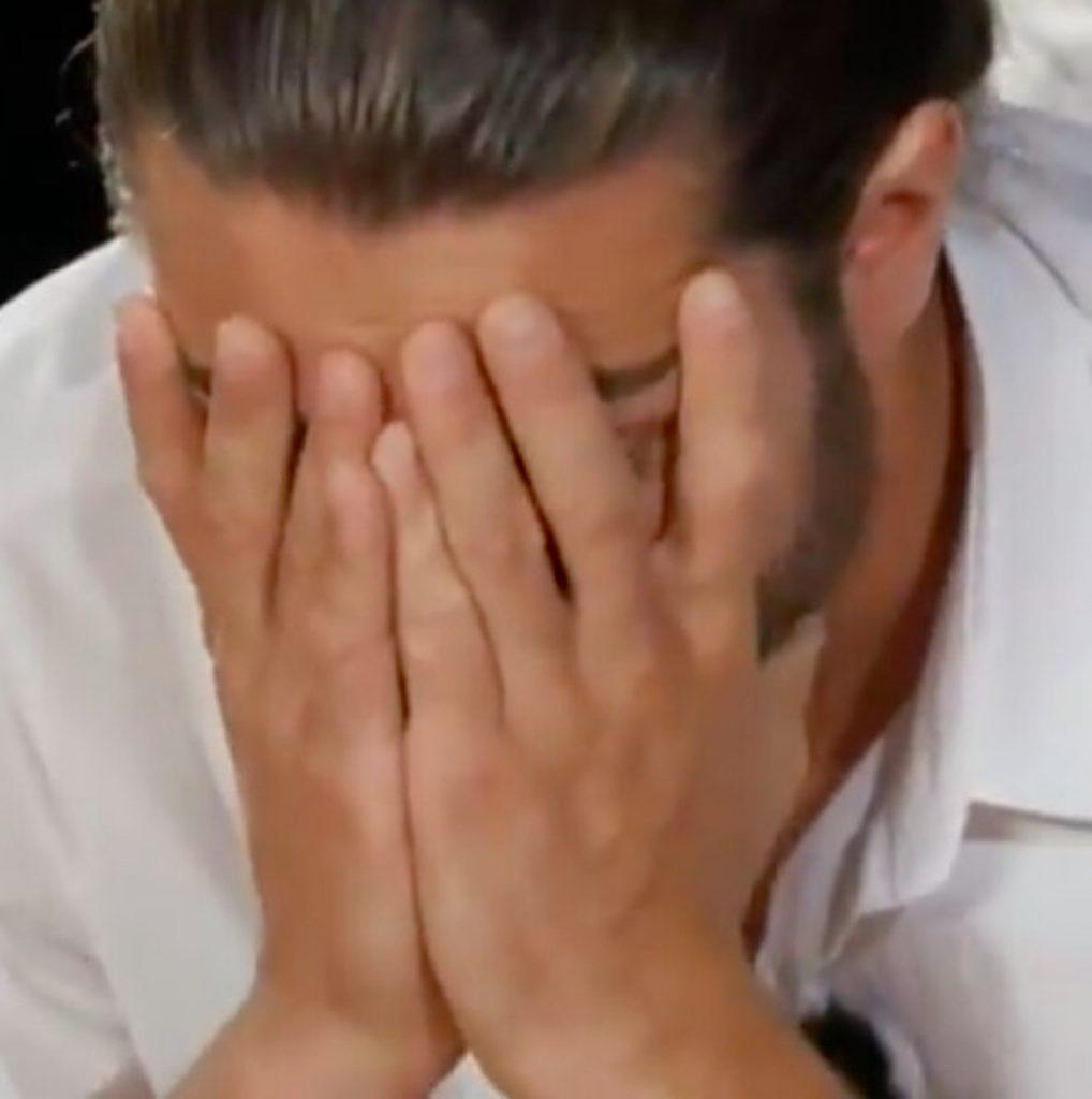 natascia Alessio piange a Temptation Island