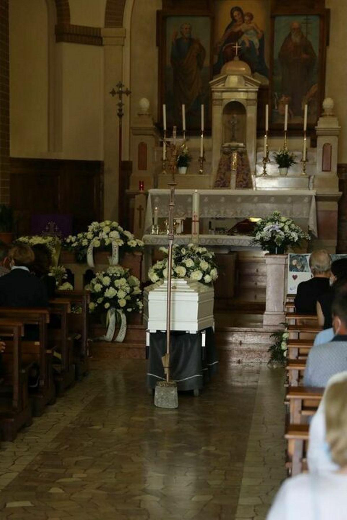 petra lucca funerali