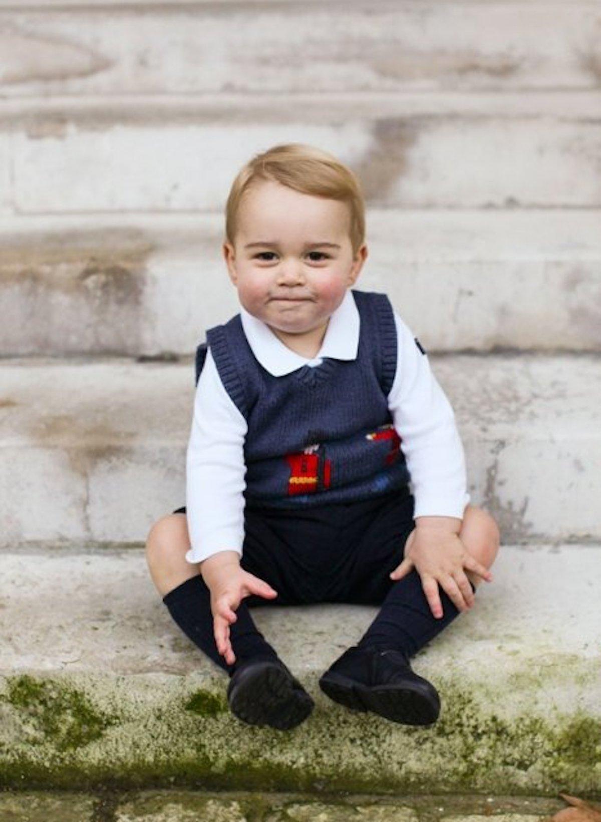 Baby george principe compleanno foto 8 anni