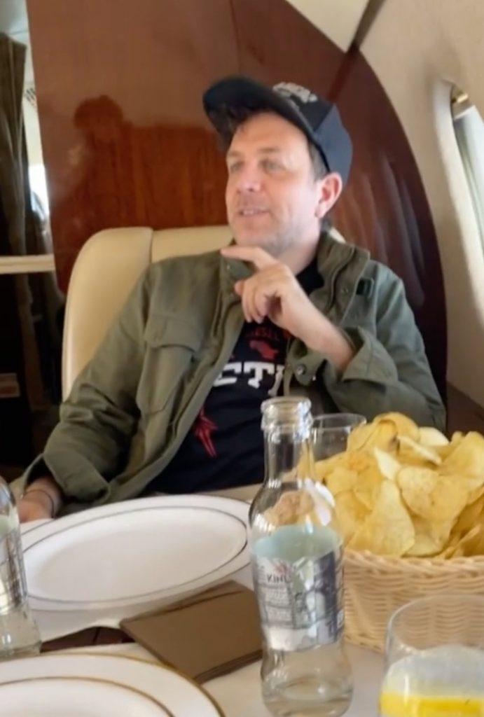 sonia bruganelli jet privato Gabriele Parpiglia