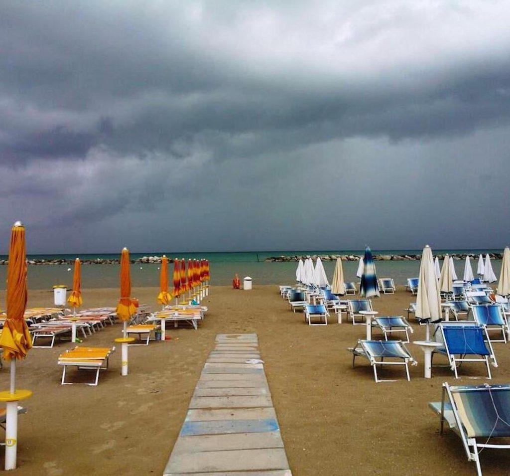 temporali italia poi caldo torrido