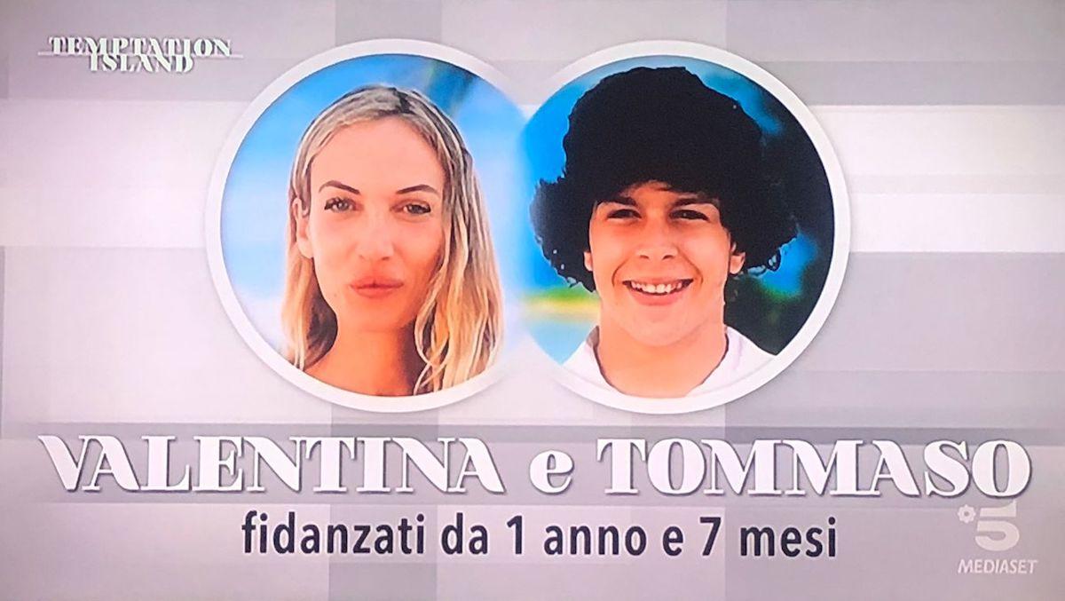 temptation island valentina tommaso