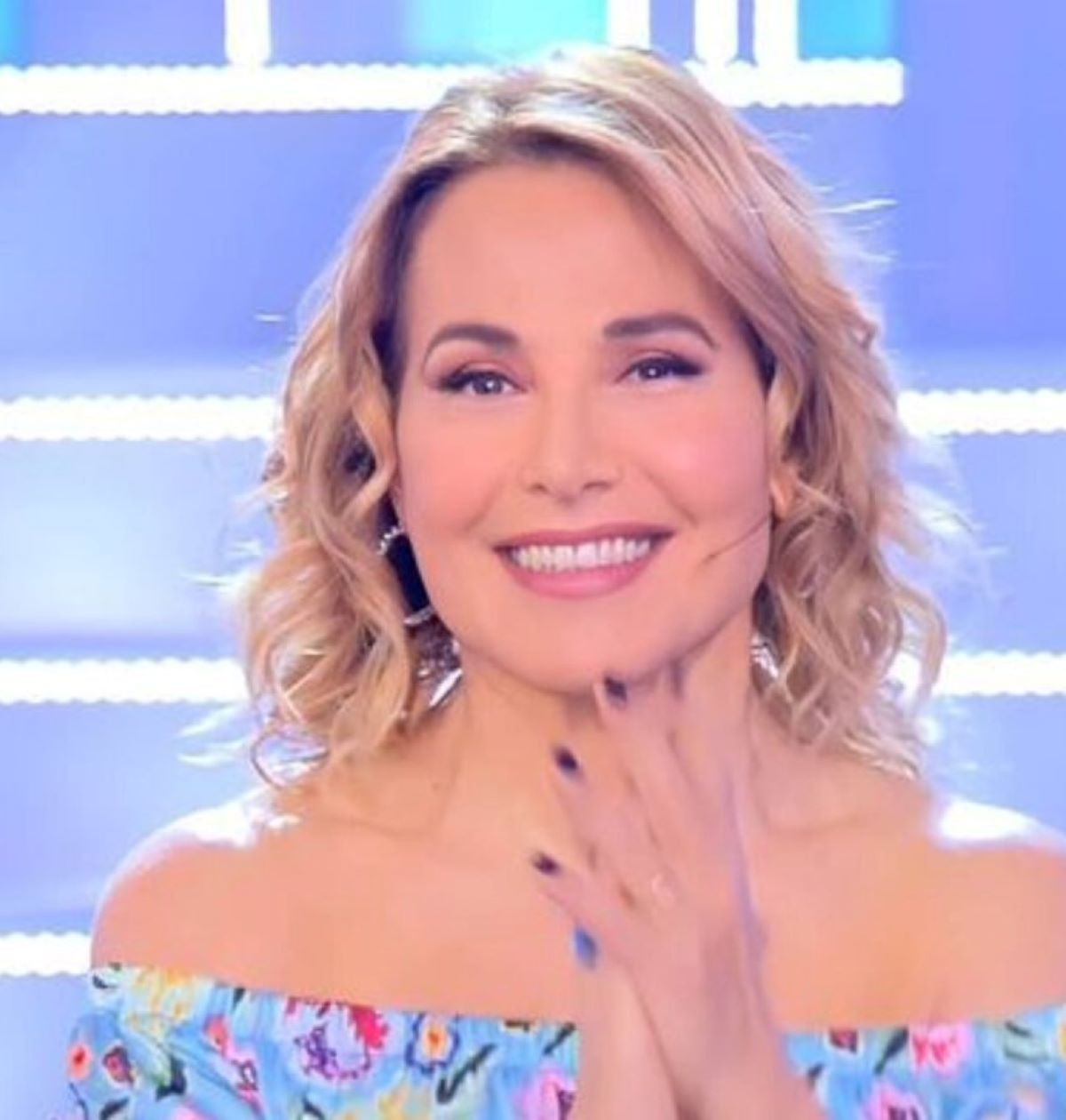 Barbara D'Urso Voce Conduzione La Talpa