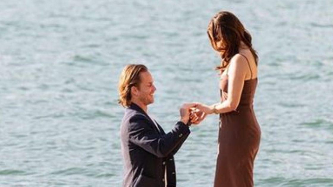 Sophia Bush Matrimonio Proposta Grant Hughes Lago di Como
