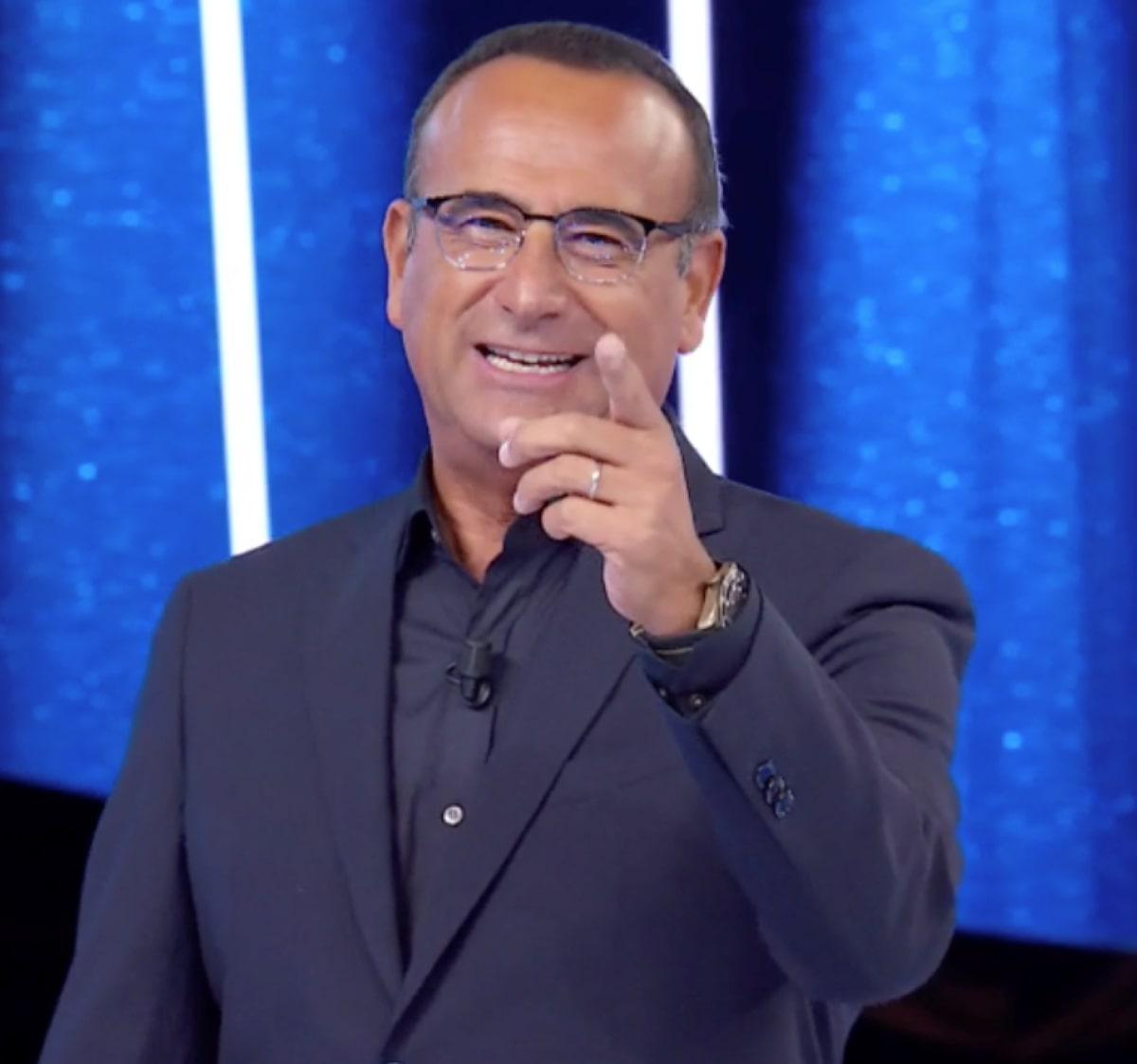 Carlo Conti Tale e Quale Show Decisione Torneo dei campioni