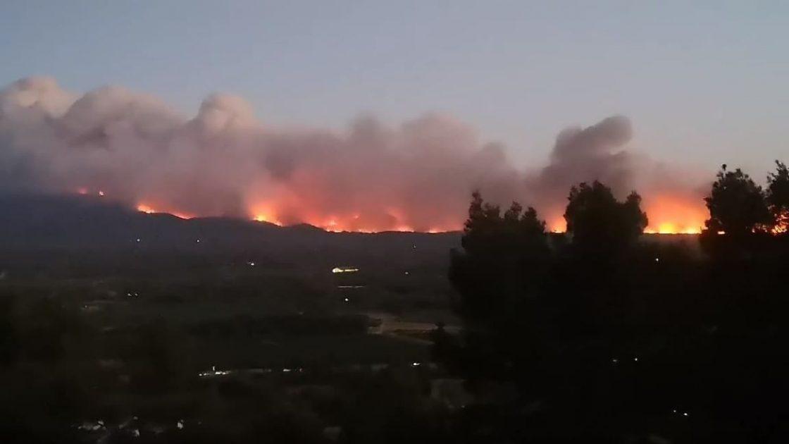 Incendio Saint-Tropez Migliaia Evacuati
