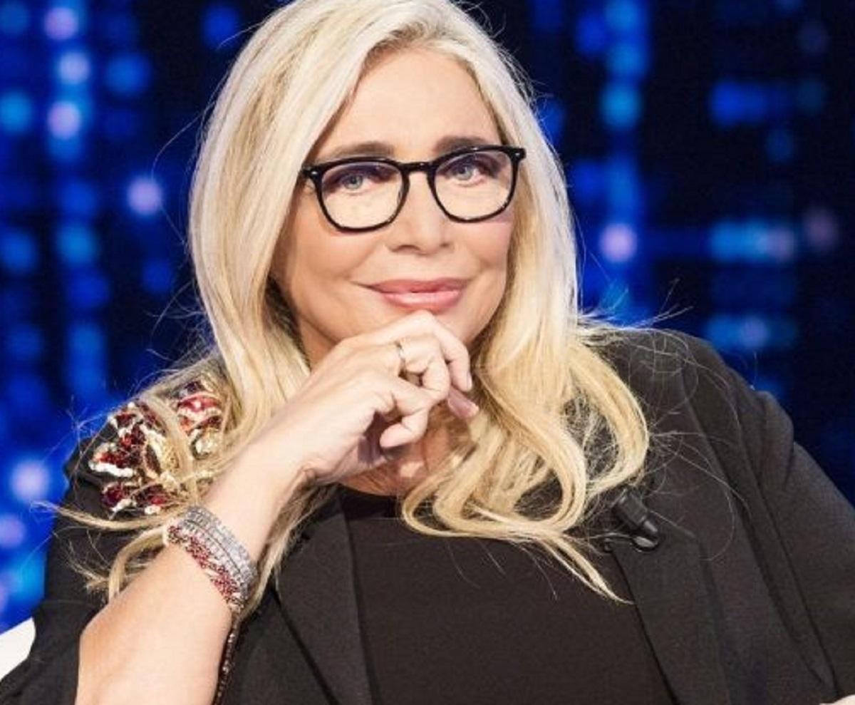 Simona Ventura frecciatina Mara Venier risposta pizza