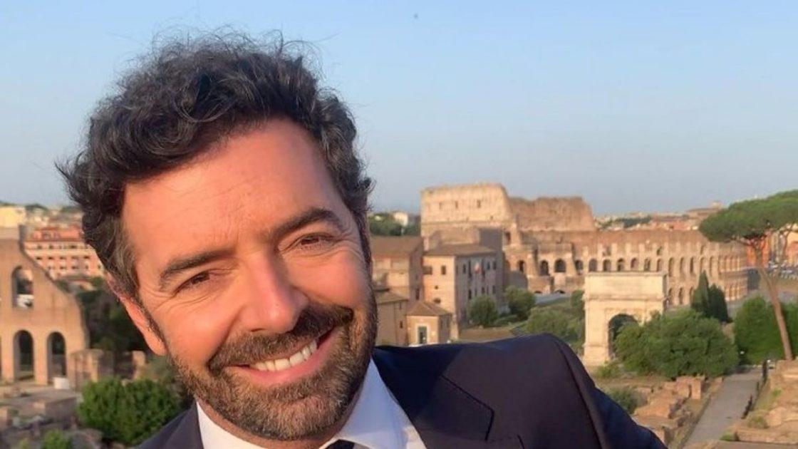 Alberto Matano Foto Nipotini Giorni Più Belli