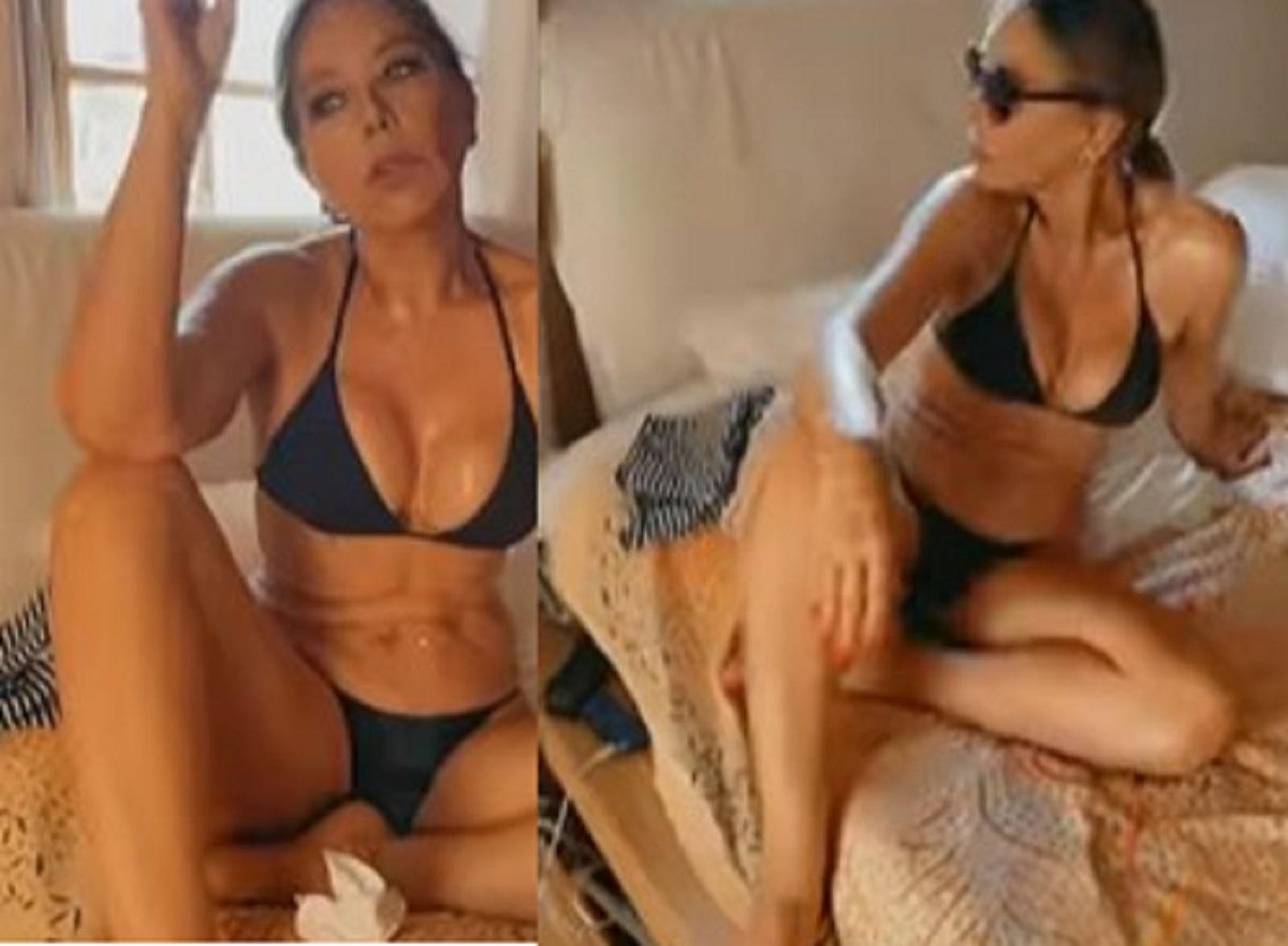 Ornella Muti 66 anni foto bikini forma fisica bellezza