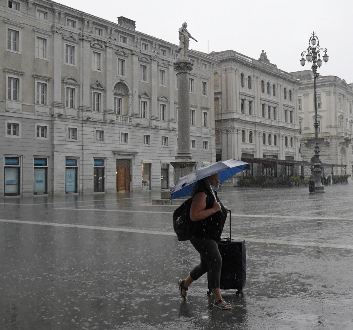 Meteo Italia 2021 23 29 agosto temporali piogge