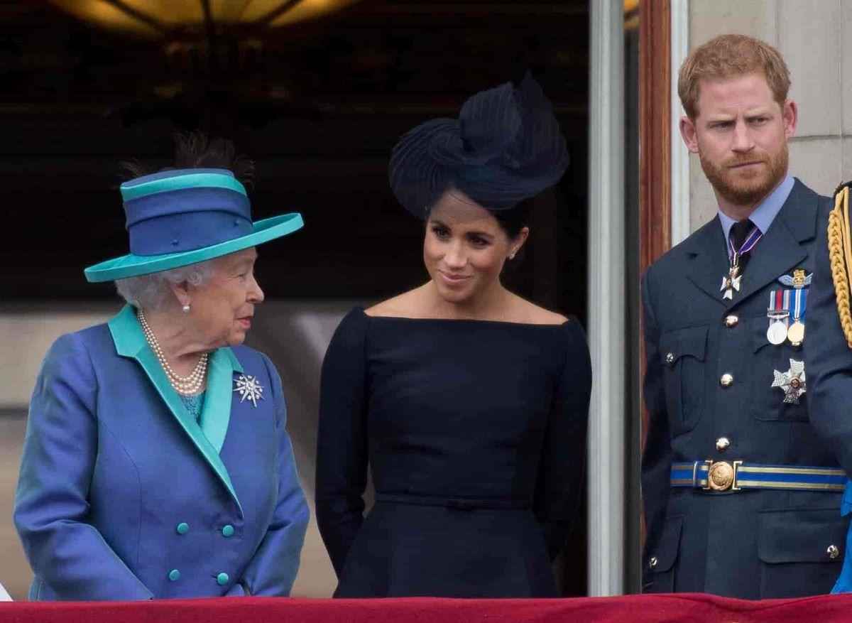 Regina Elisabetta No Presenza Battesimo Lilibet Meghan Markle Harry