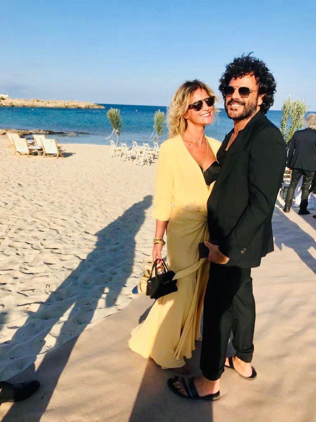 Francesco Renga Baci Effusioni Vacanza Diana Poloni
