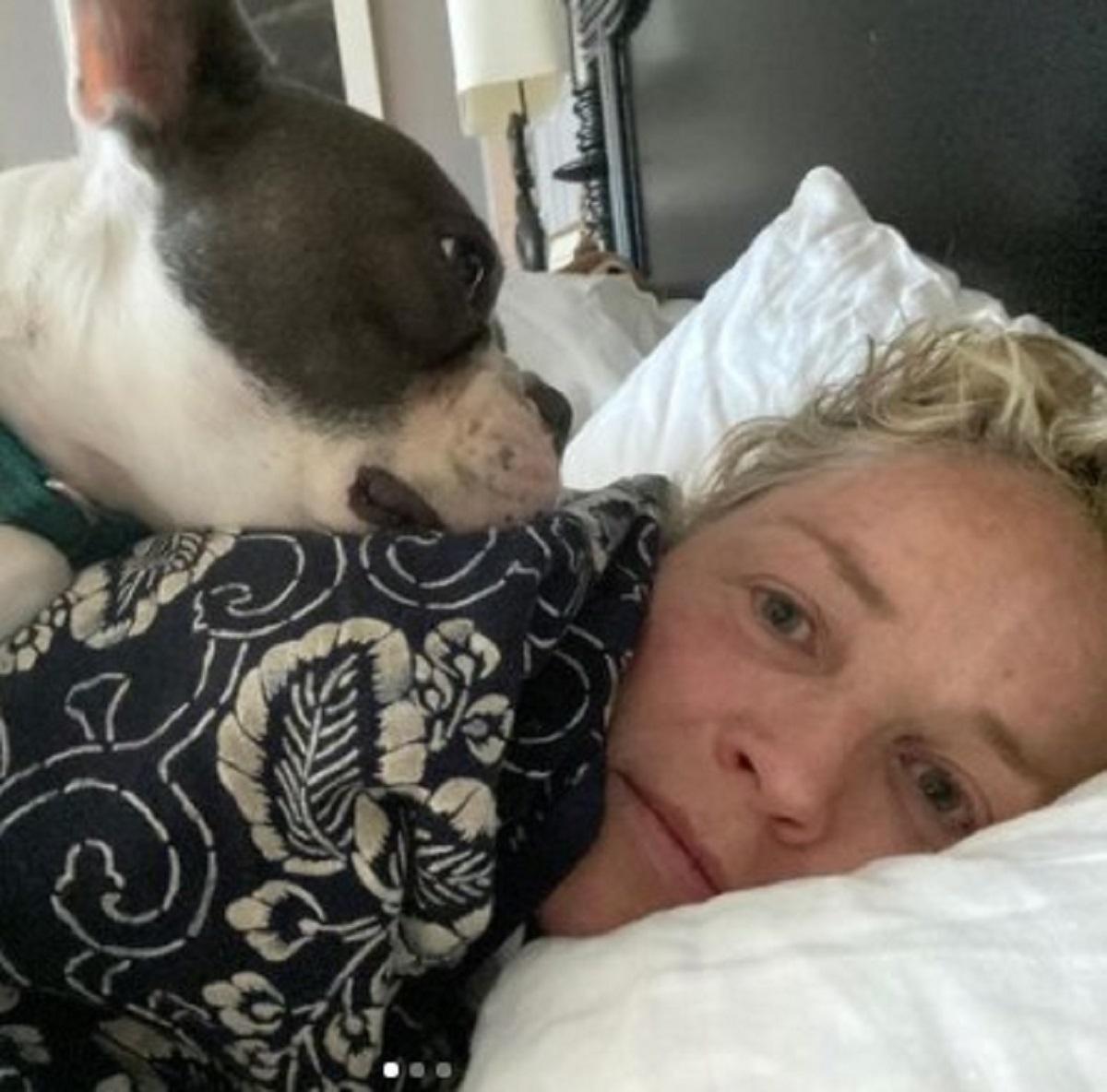 Sharon Stone notizia straziante nipotino River appello