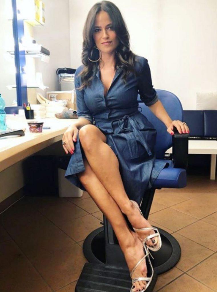 Veronica Gentili prima tv