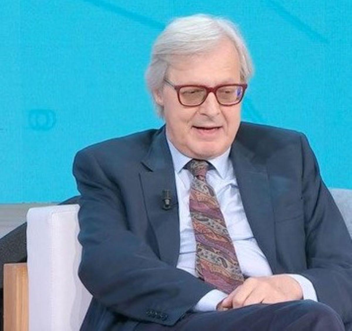 Vittorio Sgarbi Commozione Dedicato Serena Autieri Malattia Genitori