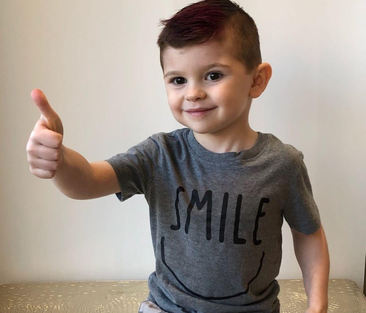 Kache Wallis Morto 4  anni Scatola Giocattoli Utah