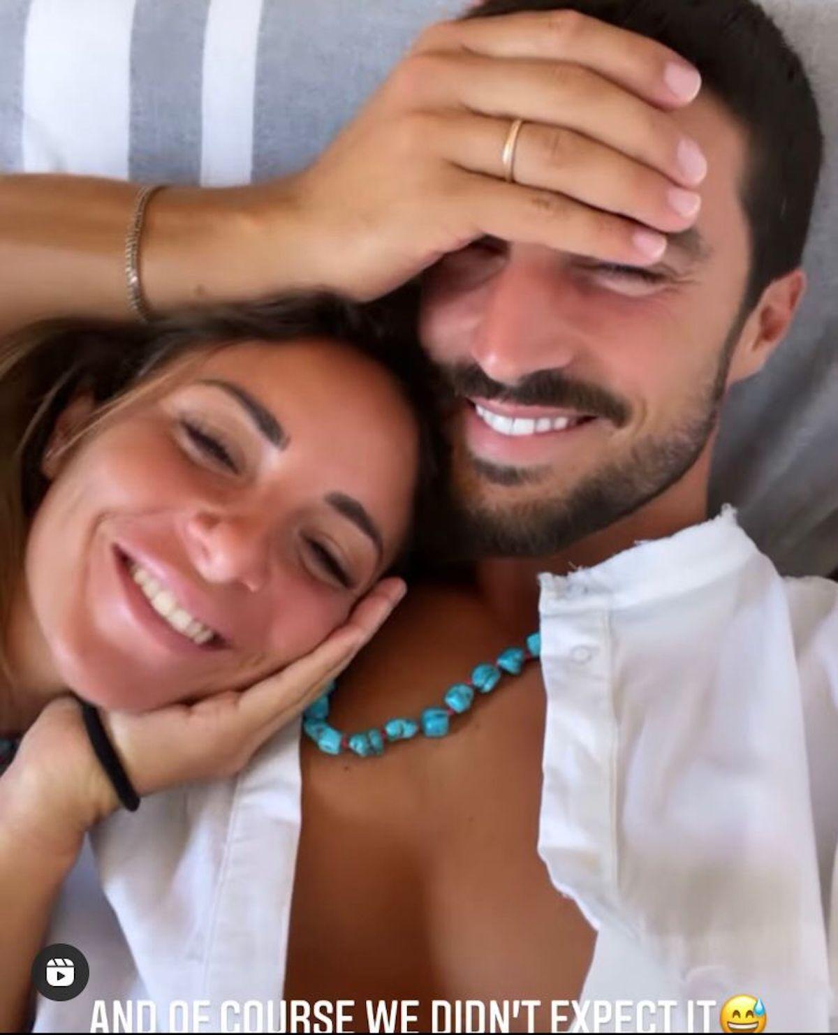 mariano di vaio Eleonora Brunacci incinta quarto figlio
